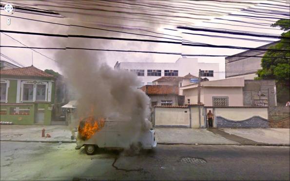Google Street View Bomb