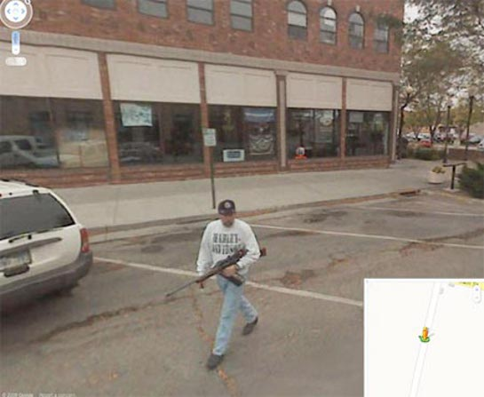 Google Street View Bombing